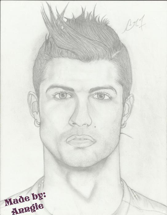 Cristiano Ronaldo by Anngie
